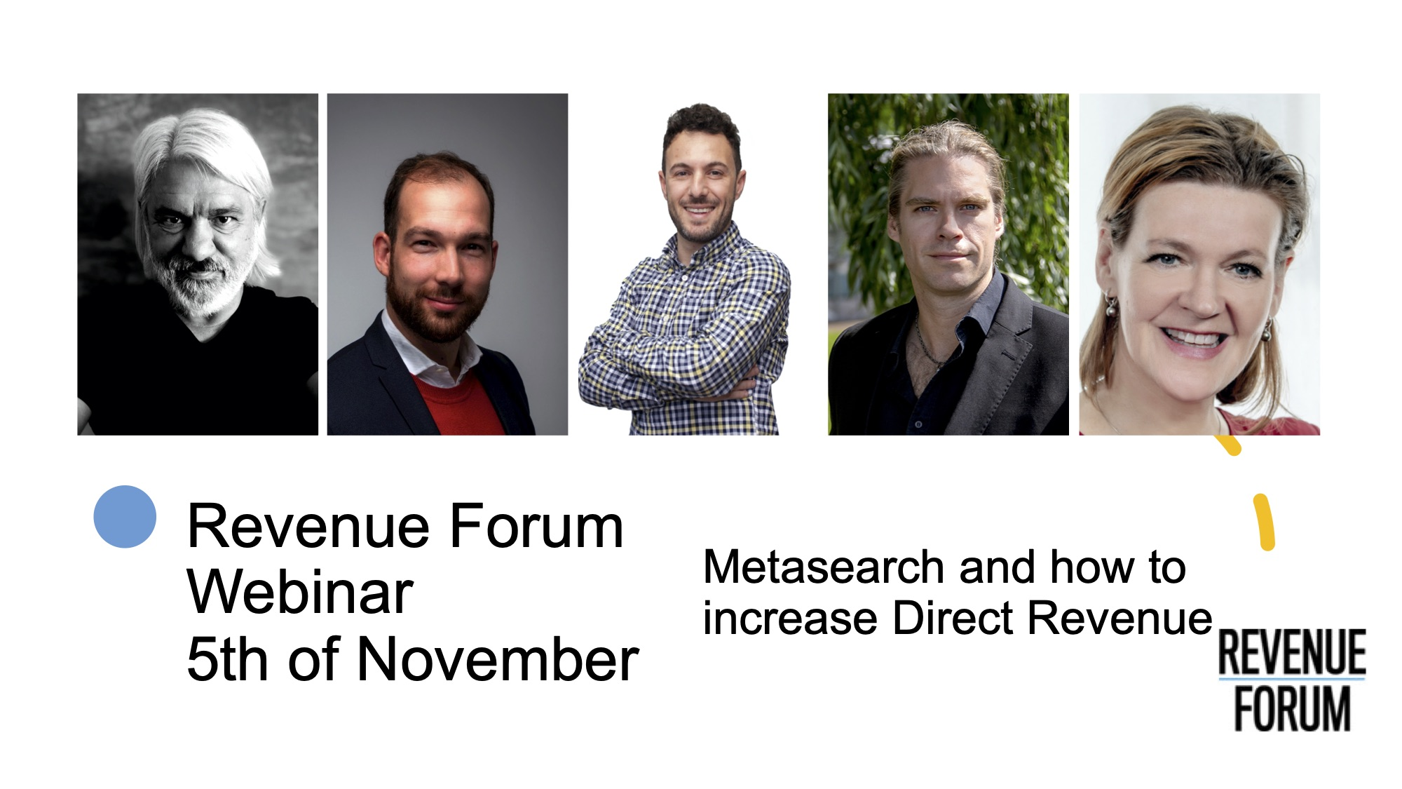 Webinar Revenuw forum