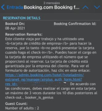 ejemplo tarifa genius disponible afiliados Booking Mirai