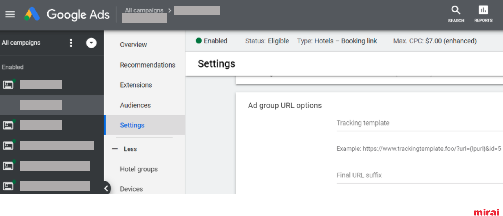 14. Monitor your performance in Google Hotel Ads - Mirai