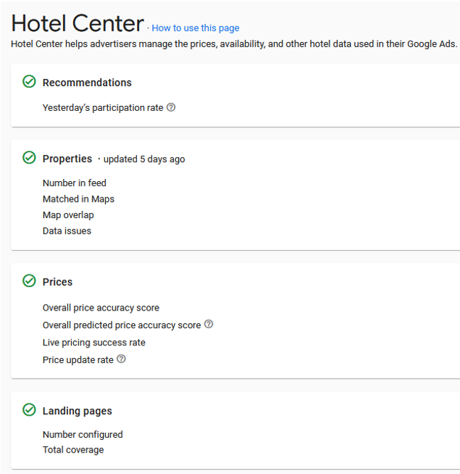 Keep your technical integration healthy - Google Hotel Ads - Mirai