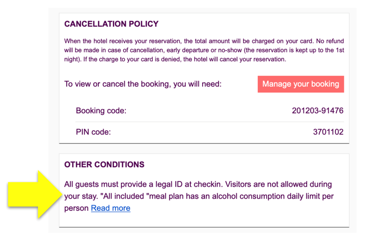 6. Booking confirmation emails - Mirai