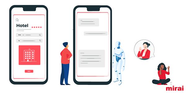 important challenge automation customer service according to Mirai