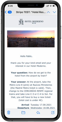 automation email mirai