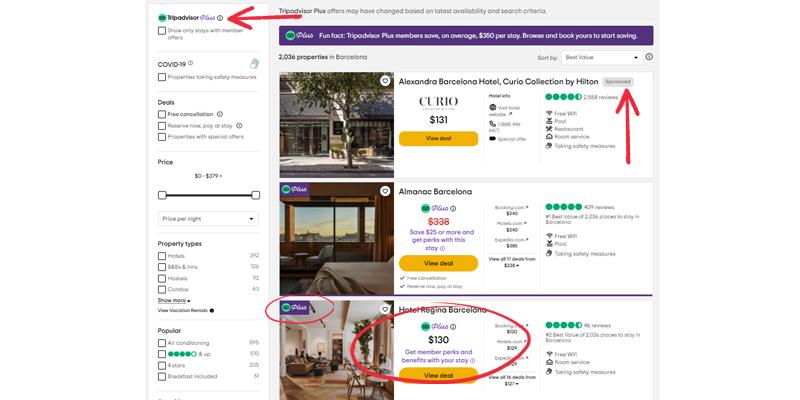 Tripadvisor plus reward model Mirai
