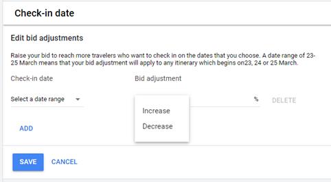 Google multiplicateur bid Mirai
