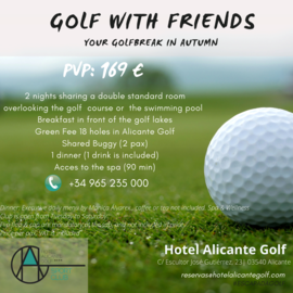GOLF WITH FRIENDS IN NOVEMBER & DECEMBER 2020 pq