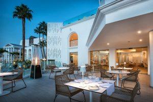 Guayarmina-Princess-Restaurant-Platinum-Club-Terrace-Evening