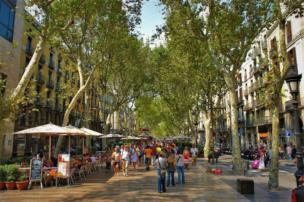 Las-Ramblas-de-Barcelona-