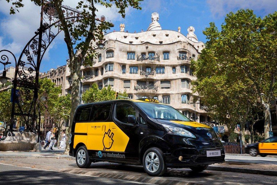 coches electricos Barcelona