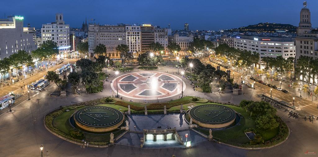 plaza-catañuña-en-barcelona