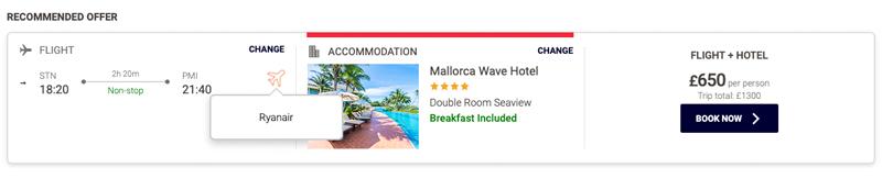 bookingvoo + hotel Mirai Onlinetravel