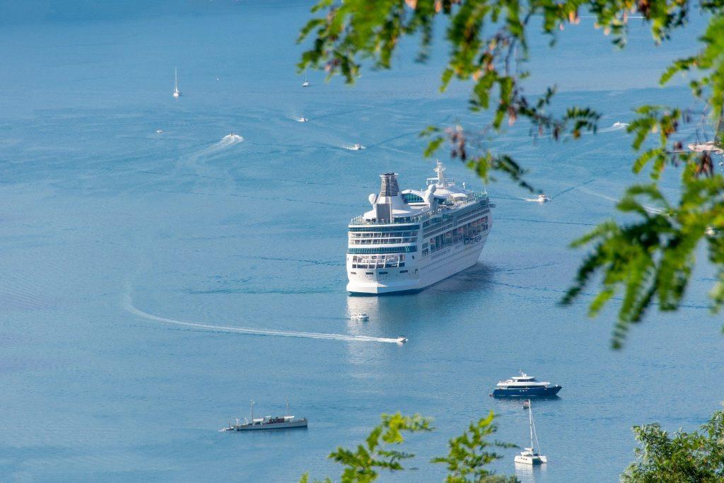 Imagen del Ferry que va desde Gran Bretaña hasta Bilbao