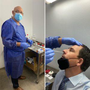 Antigen Test staff Adrian Hoteles