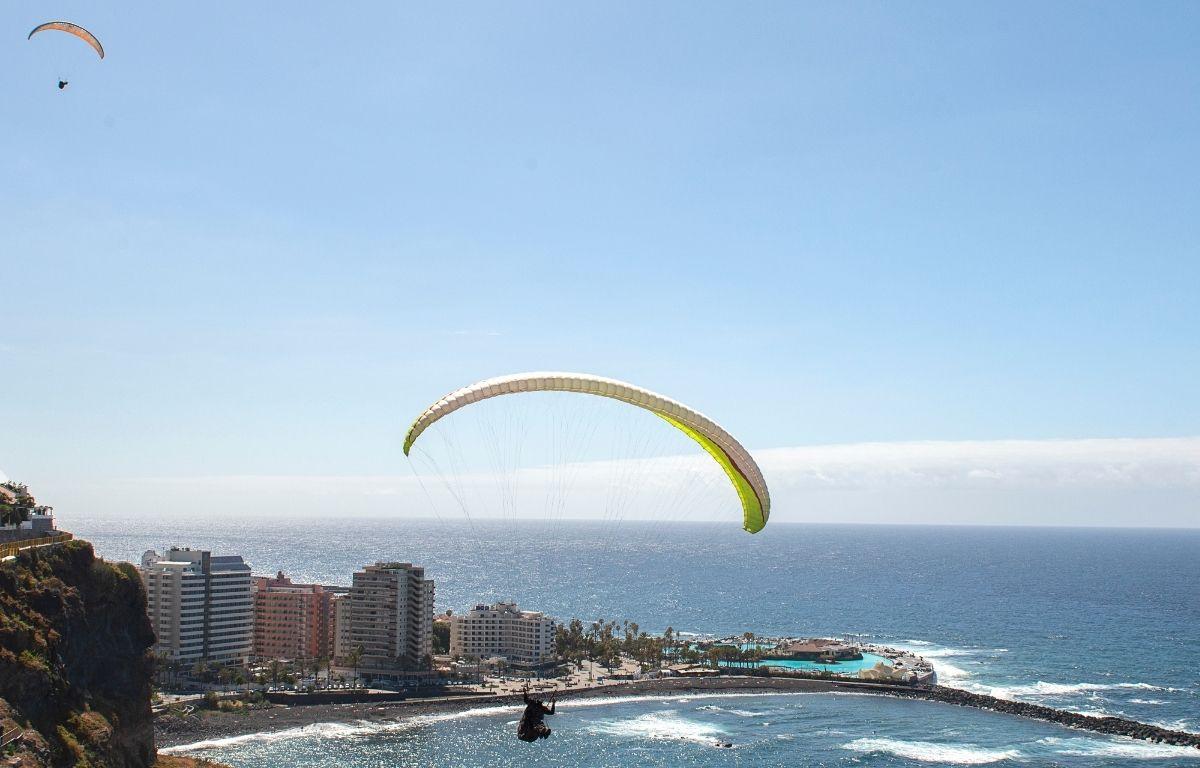 Tirarse en parapente en Tenerife
