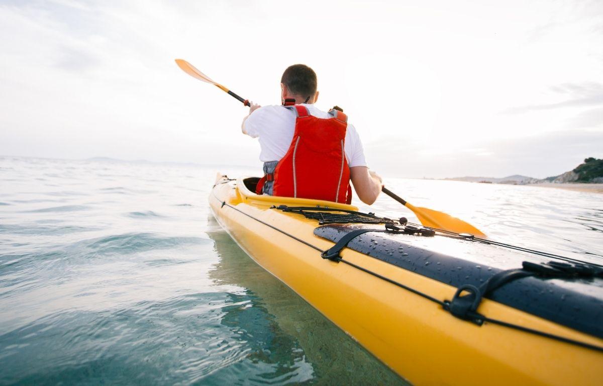 excursión en kayak en Los Gigantes