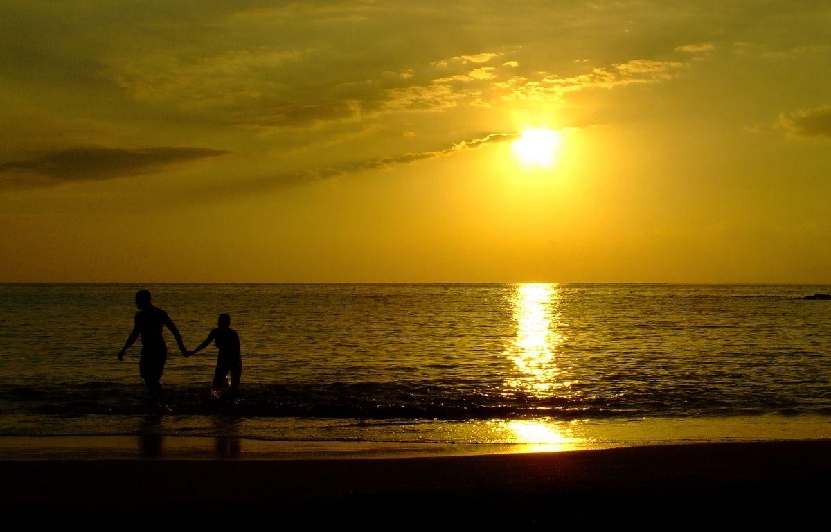 coucher de soleil de Playa la Arena